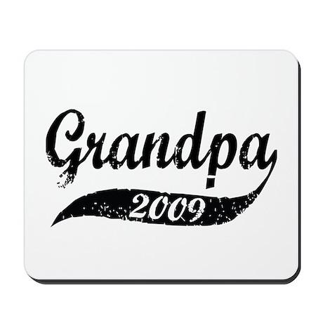 New Grandpa 2009 Mousepad