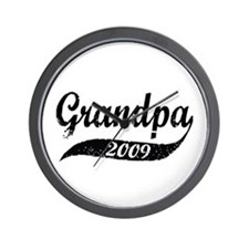 New Grandpa 2009 Wall Clock