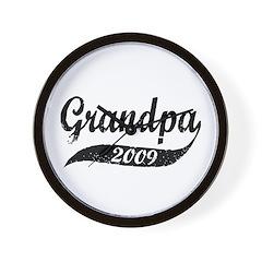 New Grandpa 2009 Wall Clock