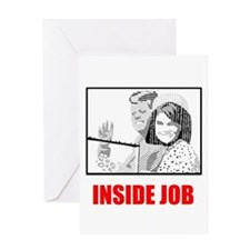 JFK: Inside Job Greeting Card