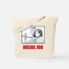 JFK: Inside Job Tote Bag