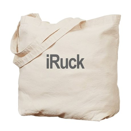 iRuck Rugby iPod Humor Tote Bag