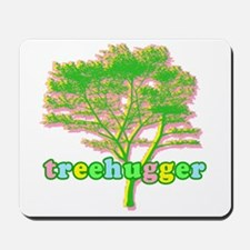 Soft Pastel Treehugger Mousepad