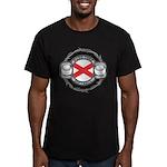 Alabama Softball Men's Fitted T-Shirt (dark)