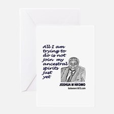 Unique Nelson mandela Greeting Card