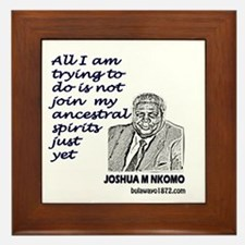 Unique Nelson mandela Framed Tile
