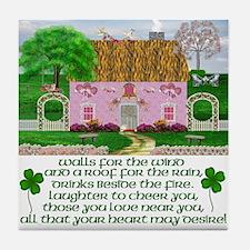 Irish Marriage Blessing Tile Coaster