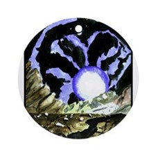 Space by Manuel Ornament (Round)