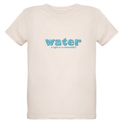 Water: A right or a commodity T-Shirt