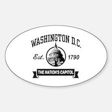 Washington DC Decal