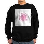 Pink Ribbon -Circle II Sweatshirt (dark)