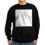 Breast Cancer Awareness Pink Sweatshirt (dark)