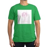 Breast Cancer Awareness Pink Men's Fitted T-Shirt