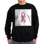 Breast Cancer Awareness: I we Sweatshirt (dark)