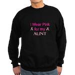 I Wear Pink for my Sweatshirt (dark)