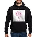 Pink Ribbon Tree - Tree of Ho Hoodie (dark)