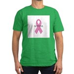 October - Breast Cancer Aware Men's Fitted T-Shirt