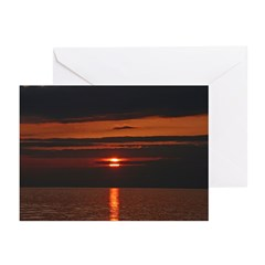Serene Sunset Greeting Cards (Pk of 10)