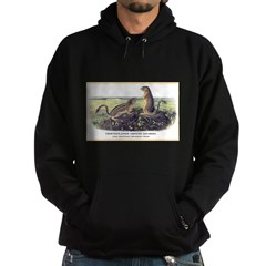 Audubon Ground Squirrel Animal (Front) Hoodie