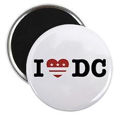 I Love DC Magnet