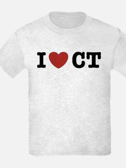 I Love CT T-Shirt