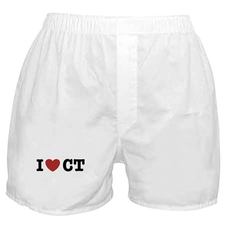 I Love CT Boxer Shorts