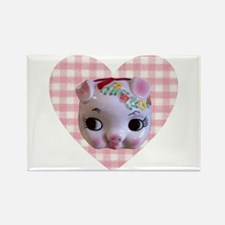 Polly Piglet Rectangle Magnet