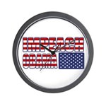 Impeach Obama Wall Clock