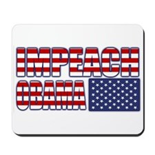Impeach Obama Mousepad