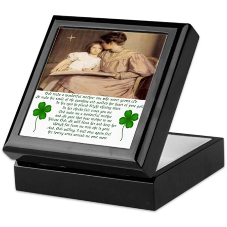 Tribute to Mother Keepsake Box
