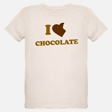 I Love [Heart] Chocolate T-Shirt