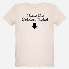 I have the Golden Ticket T-Shirt