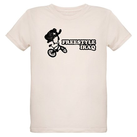 Freestyle Iraq Organic Kids T-Shirt