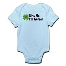 Kiss Me I'm Korean Infant Bodysuit