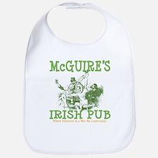 McGuire's Irish Pub Personalized Bib