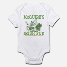 McGuire's Irish Pub Personalized Infant Bodysuit