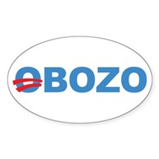 Anti Barack Obama Oval Sticker (10 pk)