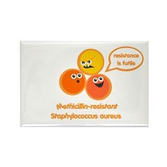 MRSA Rectangle Magnet (10 pack)