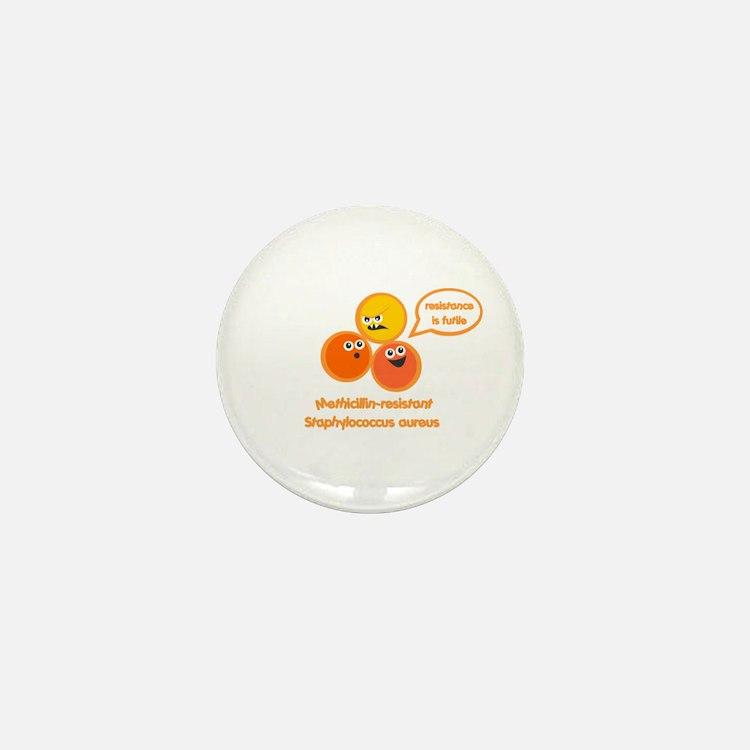 MRSA Mini Button