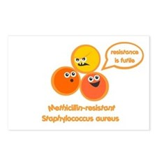 MRSA Postcards (Package of 8)