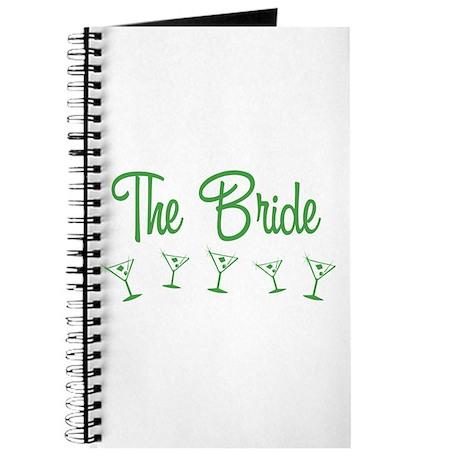 Green M-Martini Bride Journal