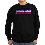Criminals & Gun Control Sweatshirt (dark)