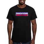 Criminals & Gun Control Men's Fitted T-Shirt (dark