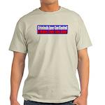 Criminals & Gun Control Light T-Shirt