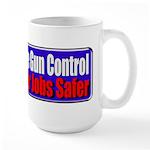 Criminals & Gun Control Large Mug