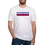 Criminals & Gun Control Fitted T-Shirt