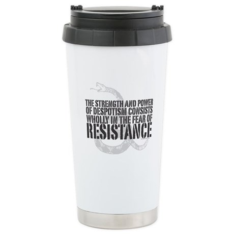 Thomas Paine Resistance Quote Stainless Steel Trav
