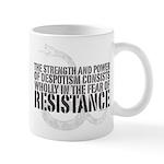 Thomas Paine Resistance Quote Mug