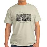 Thomas Paine Resistance Quote Light T-Shirt