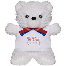 Red M-Martini Bride Teddy Bear